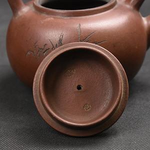 联盟 旧藏紫砂提梁壶