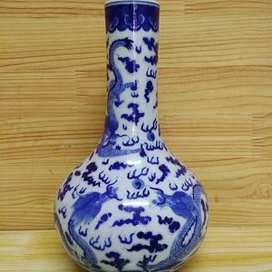 联盟 青花直径瓶