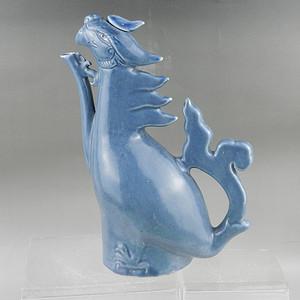 明代安南窑蓝釉凤壶 联盟