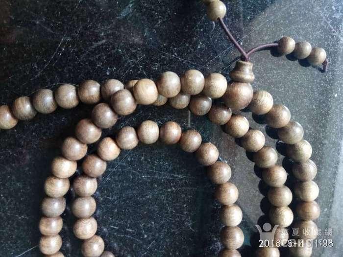 天然野生印尼加里曼丹沉香佛珠108颗手串图1