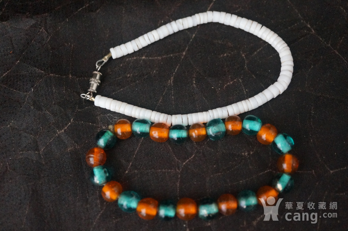 欧洲天然材质 装饰手链两个图2