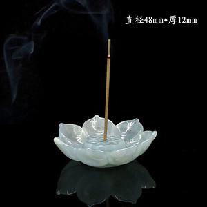 紫罗兰翡翠香盘1274