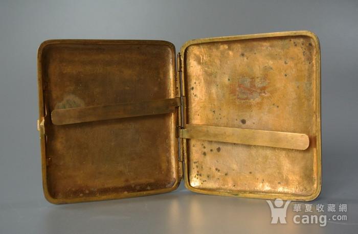 清晚期铜胎掐丝龙纹烟盒图9