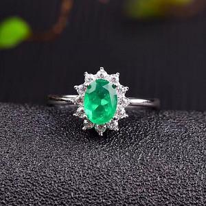 联盟 顶级哥伦比亚祖母绿戒指