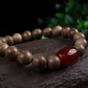 联盟  正区天然上等加里曼丹沉香每颗都有天然形成的纹路,香中之王,众香
