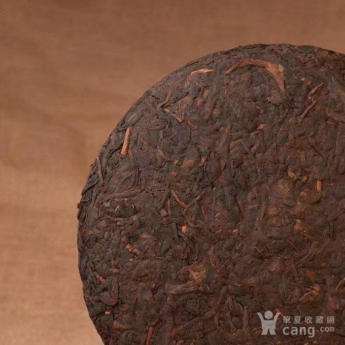 收藏品 十年珍藏版 云南普洱茶饼 勐海普洱茶熟茶357g特价七子饼茶一图3