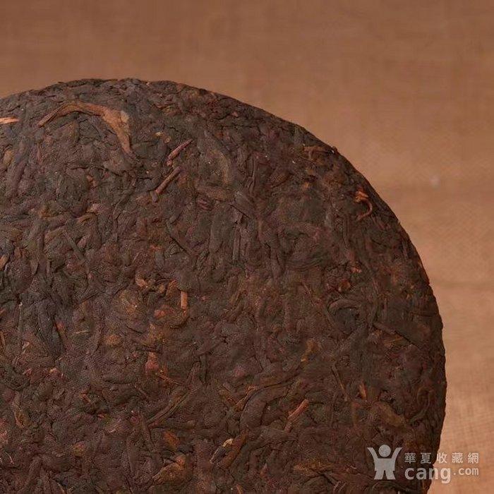 收藏品 十年珍藏版 云南普洱茶饼 勐海普洱茶熟茶357g特价七子饼茶一图2