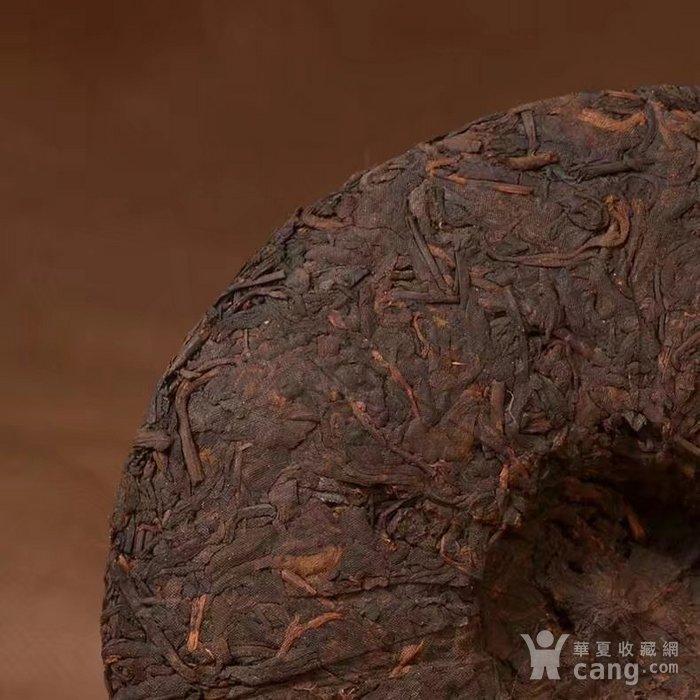 收藏品 十年珍藏版 云南普洱茶饼 勐海普洱茶熟茶357g特价七子饼茶一图5