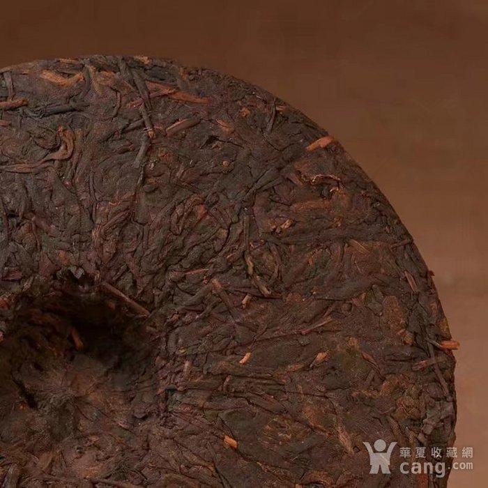 收藏品 十年珍藏版 云南普洱茶饼 勐海普洱茶熟茶357g特价七子饼茶一图6