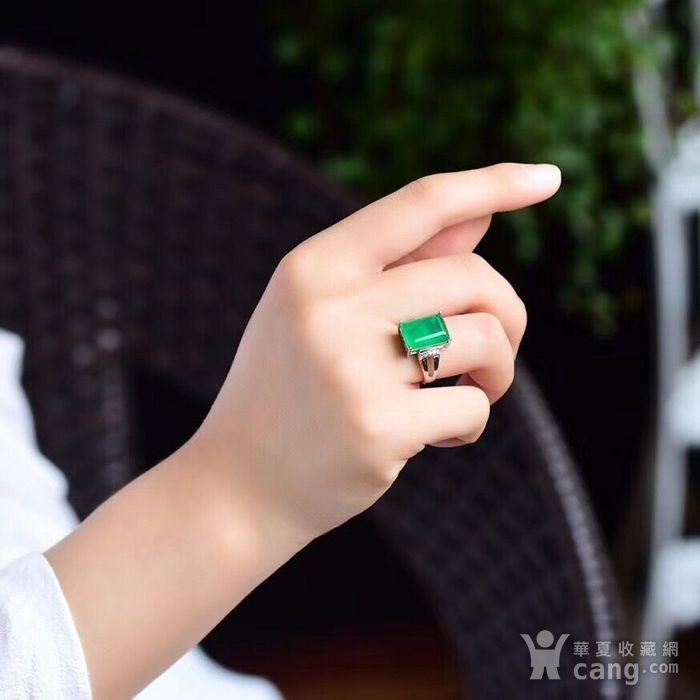 顶级哥伦比亚祖母绿戒指图5