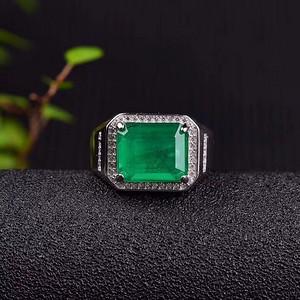顶级哥伦比亚祖母绿戒指
