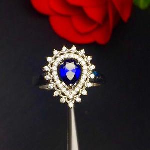 爆款斯里兰卡蓝宝石戒指!