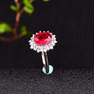 爆款缅甸红宝石戒指