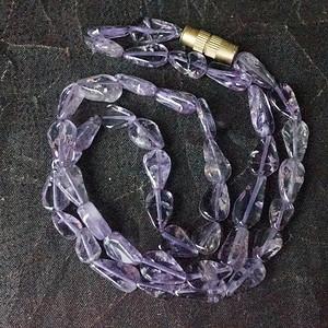 天然紫水晶项链