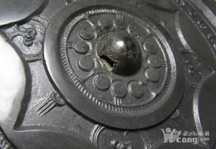 超大18cm 西汉连弧纹铭文镜图4