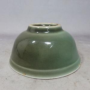 清代豆青碗