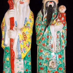 清禄星寿星瓷塑