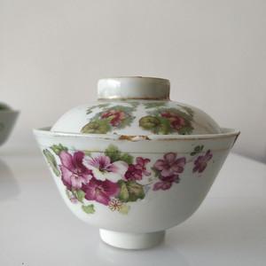 民国刷花茶碗