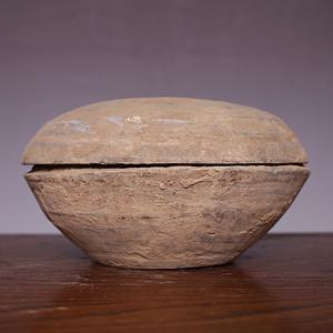 藏海淘 汉钵陶盆包老 JZ421