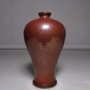 小精品  紫金釉小梅瓶