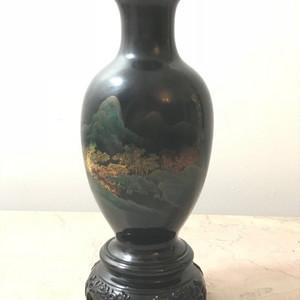 9013 福州脱胎漆赏瓶