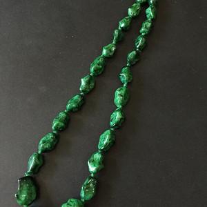 8030欧洲回流孔雀石珠链