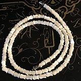 金牌 出口创汇时期玫瑰雕花老细螺项链