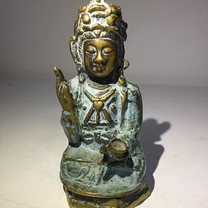 明代铜雕汉传菩萨