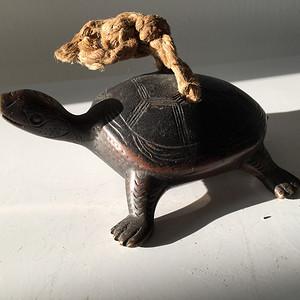 清代铜雕文房乌龟