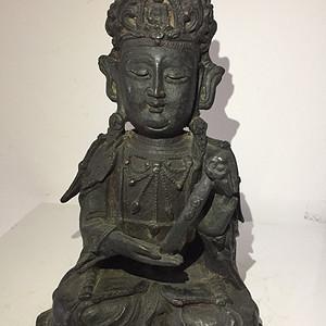 明代铜雕中原观音