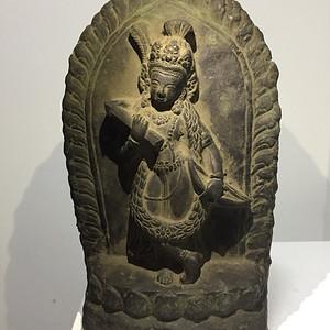 清代铜雕佛母
