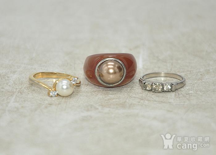 回流戒指三枚6.7克图1