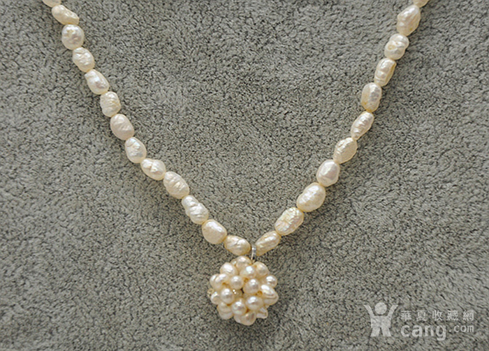 8.6克珍珠项链图2