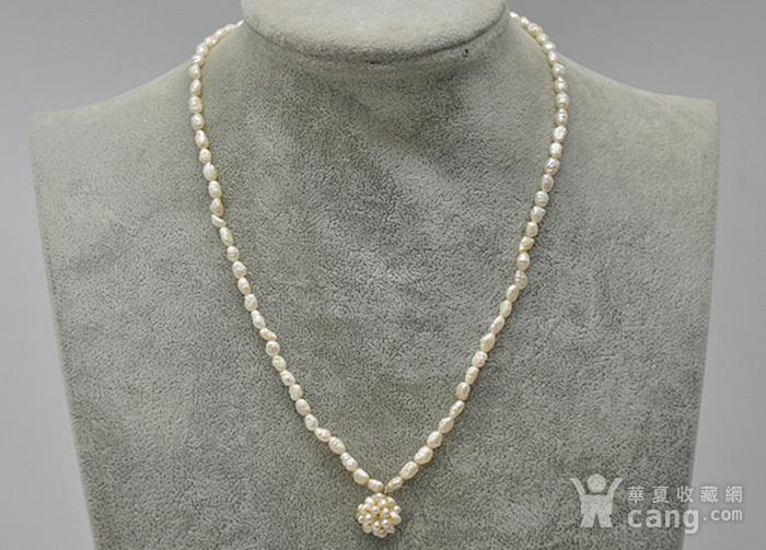 8.6克珍珠项链图1