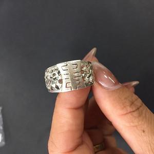 8088欧洲回流老银戒指