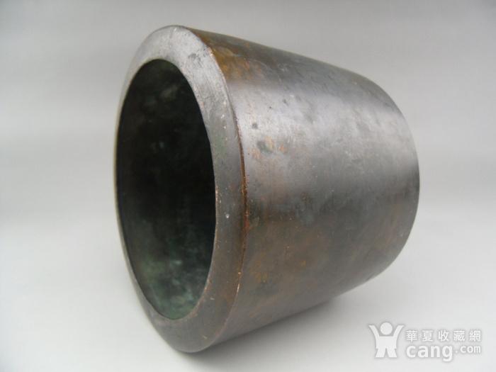 17.民国 直筒铜香炉图6