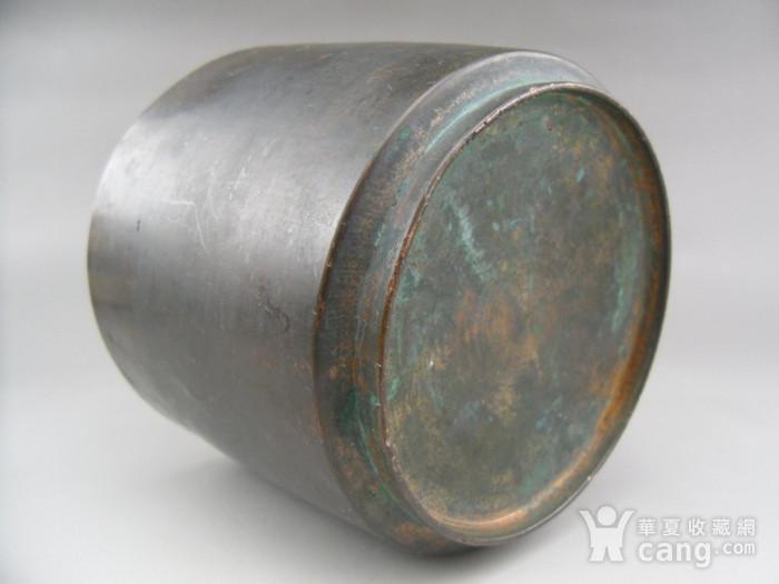 17.民国 直筒铜香炉图7