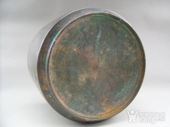 17.民国 直筒铜香炉图9