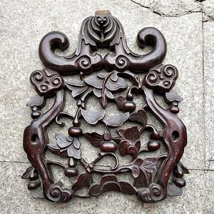 比较漂亮老红木雕刻板