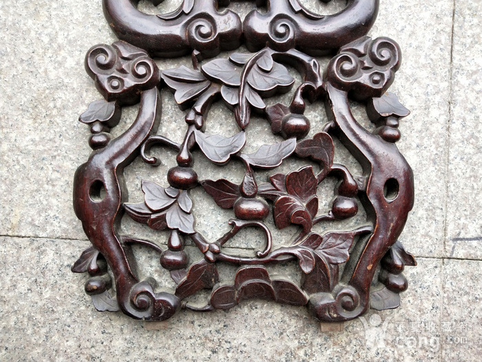 比较漂亮老红木雕刻板图3