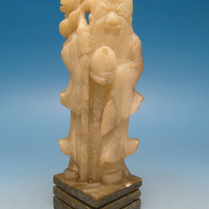 23.民国 寿山石雕寿星像