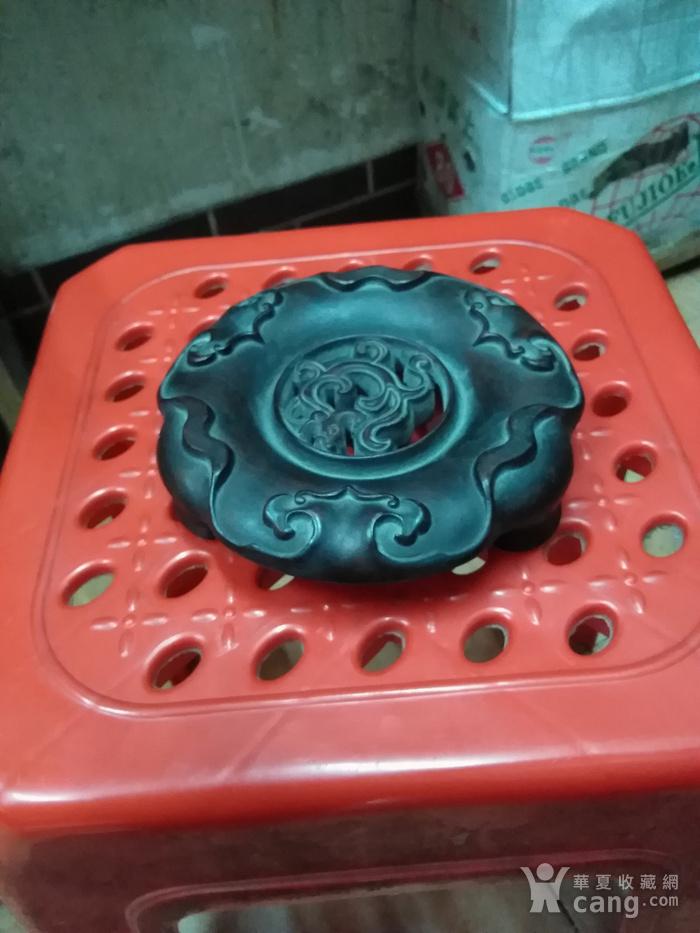 红木香炉底座图2