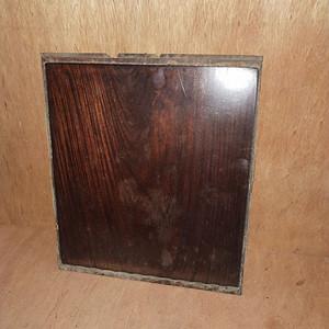 红 酸枝素板一片
