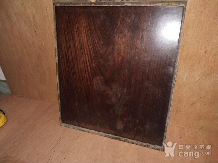 红 酸枝素板一片图4
