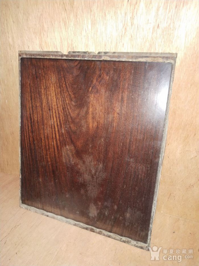 红 酸枝素板一片图5