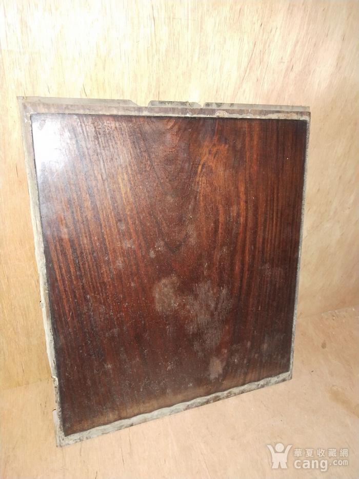 红 酸枝素板一片图6