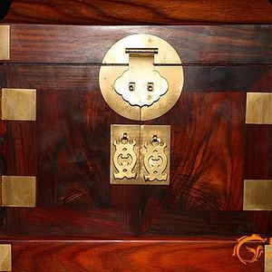 酸枝木 官 皮 箱