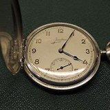 1936德国荣瀚宝星Junghans典藏级银质怀表