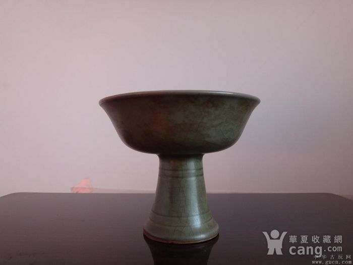 耀州窑高足杯图2