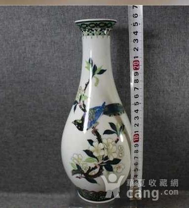 英国回流的醴陵瓷锦鸡富贵图花瓶一对图8